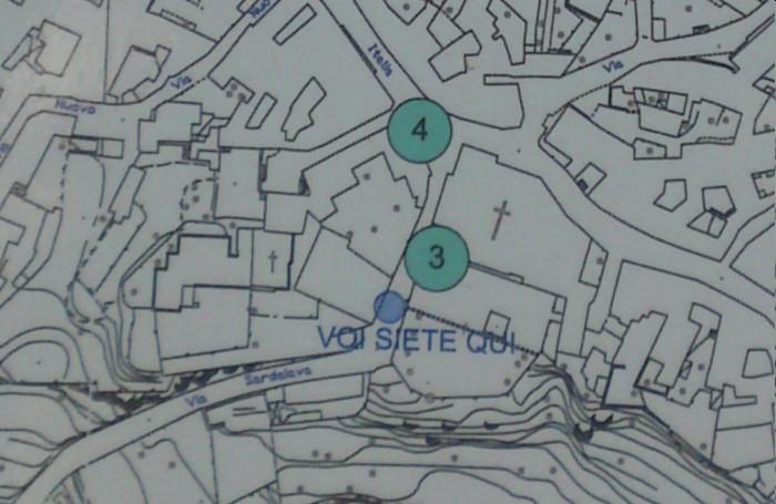 Cartina Sardegna Nurri.3 San Michele Sito Ufficiale Della Proloco Di Nurri